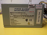 Блок питания POWER MASTER 350W 80FAN писк