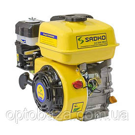 Двигатель Sadko GE-200 PRO (6,5 л.с., шлиц 20 мм, с фильтром в масляной ванне)