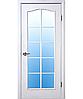 Двери межкомнатные Новый стиль Дверное полотно Классик витраж