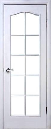 Двери межкомнатные Новый стиль Дверное полотно Классик витраж, фото 2