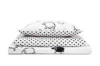 Постель в детскую кроватку «Очаровательные барашки»