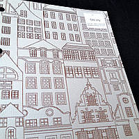 Тканевые оконные роллеты  Old city, фото 1