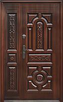 Двери входные улица Сезон плюс 150+ 1200*2050 левая, правая медь антик