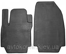 Гумові передні килимки в салон Renault Clio III 2005-2012 (STINGRAY)