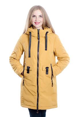Женское пальто-парка на холлофайбере DASER
