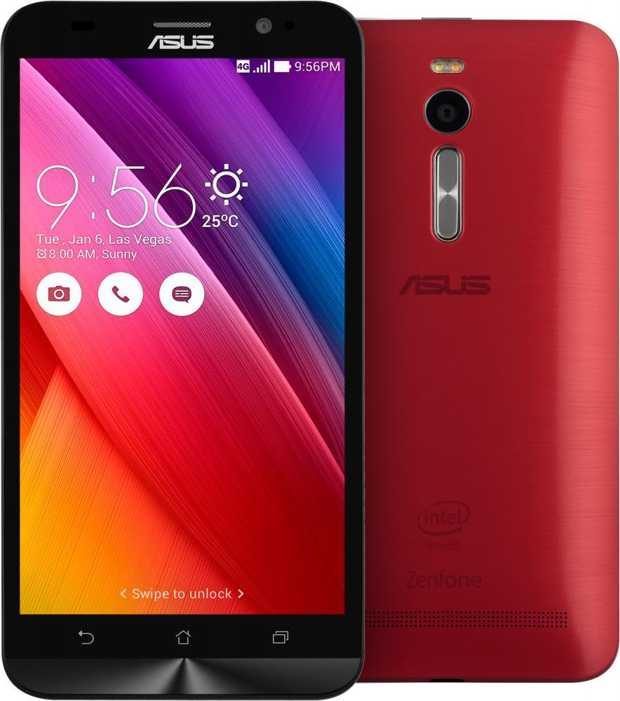 "Смартфон ASUS ZenFone 2 4/64GB(ZE551ML) Red, 2sim, 3000mAh, экран 5.5""IPS, 13/5Мп, GPS, 4 ядра"