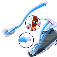 Многофункциональная щетка для кроссовок и обуви