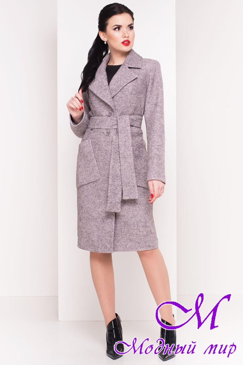 """Шерстяное демисезонное пальто (р. S, M, L) арт. """"Габриэлла 4546"""" - 21585"""