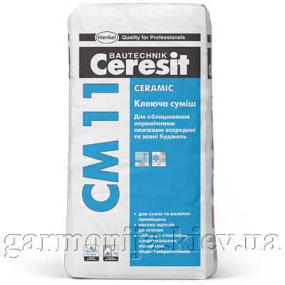 Клей для плитки Ceresit CM 11 Ceramic, 25 кг, фото 2
