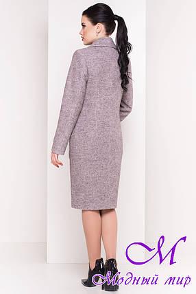 """Шерстяное демисезонное пальто (р. S, M, L) арт. """"Габриэлла 4546"""" - 21585, фото 2"""