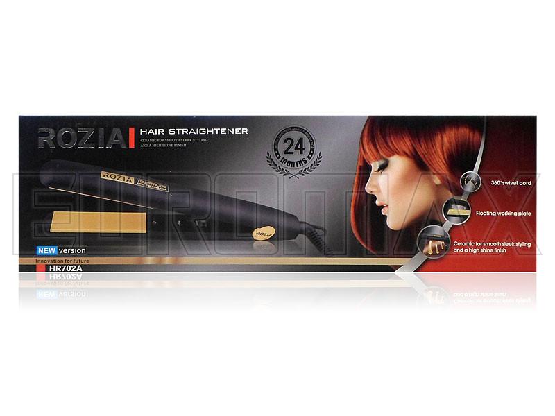 Утюжок для волос Rozia 40шт HR702A