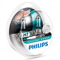 Philips X-Treme Vision +130% ➤ тип лампы H7 ➤ комплект 2шт.