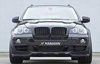 Бампер передний на БМВ Х5 Хаманн е70 (дорестайлинг) до 2011 г/в