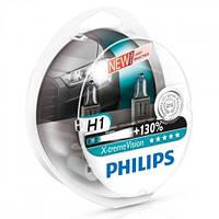 Philips X-Treme Vision +130%, тип лампы H1, комплект 2шт.