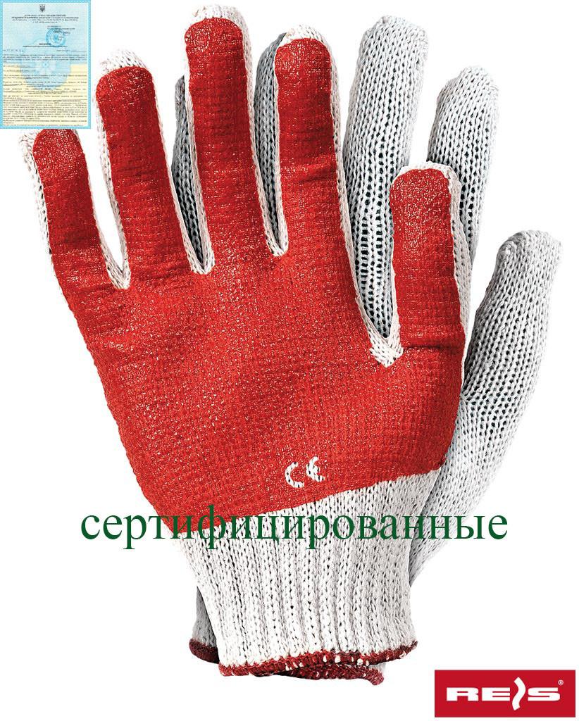 Захисні рукавички трикотажні RR WC