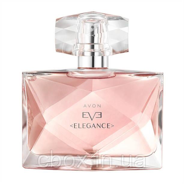 Парфюмерная вода женская Avon Eve Elegance, Иве Элеганс, Эйвон, 19134, 50 мл