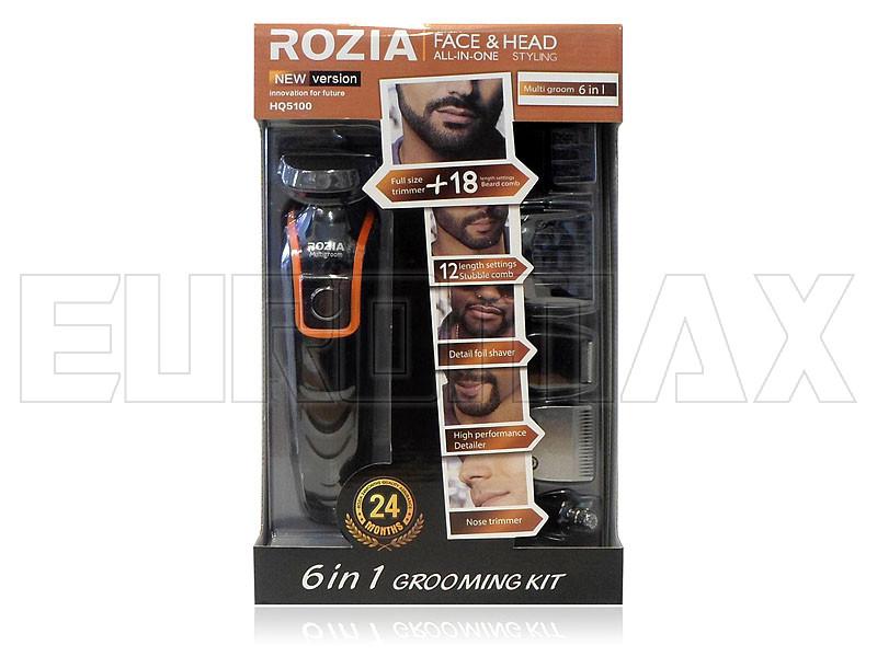 Машинка для стрижки волос триммер 6 в 1 Rozia HQ5100
