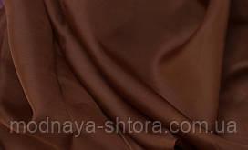 Шифон (вуаль) однотонный шоколадный
