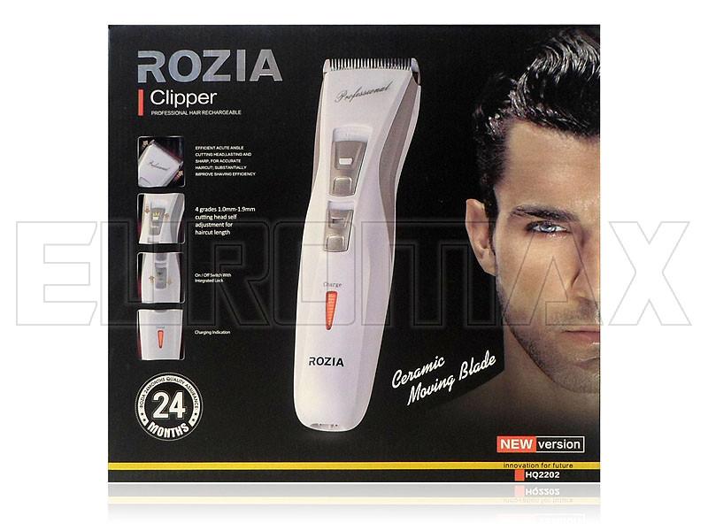 Машинка для стрижки волос Rozia 40шт HQ2202