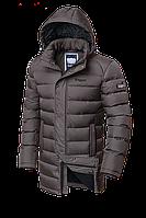 Удлиненная мужская зимняя куртка-парка Braggart (р. 46-56) арт. 4672 сафари