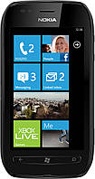 "Nokia Lumia 710 Black, дисплей 3.7"", Windows Phone OS, камера 5 Mpx, память 8GB, GPS (A-GPS), 3G (WCDMA)., фото 1"