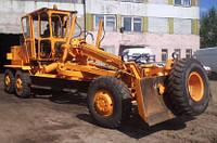 Подвеска тяговой рамы и управляемый мост автогрейдера ДЗ-122, ДЗ-143