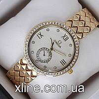 Женские наручные часы Omega 3405 на металлическом браслете