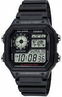 Мужские спортивные часы Casio AE-1200WH-1AVEF