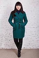 Стильное женское пальто с ремешком сезона весна 2018 AMAZONKA - (рр-79), фото 1
