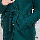 Стильное женское пальто с ремешком сезона весна 2018 AMAZONKA - (рр-79), фото 2