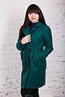 Стильное женское пальто с ремешком сезона весна 2018 AMAZONKA - (рр-79), фото 3