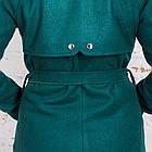 Стильное женское пальто с ремешком сезона весна 2018 AMAZONKA - (рр-79), фото 4