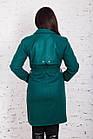 Стильное женское пальто с ремешком сезона весна 2018 AMAZONKA - (рр-79), фото 5