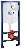 Инсталяционная система для подвесного унитаза 3в1 Rapid SL Grohe 38722001(Кнопка Skate Air)