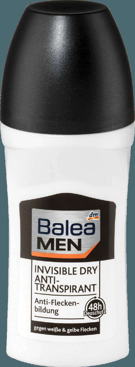Роликовый дезодорант - антиперспирант Balea men Invisible