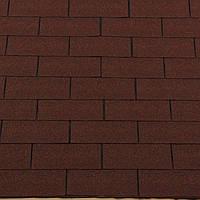 Битумная черепица Roofshield коллекция ФЕМИЛИ серия Американ цвет 35 коричневый