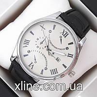 Мужские наручные часы Vacheron Constantin B307 на кожаном ремешке