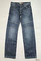 Джинсы для мальчика тёмно-синие прямого покроя (158 см.) A-yugi Jeans 2100000262755