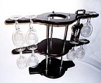 Набор для вина на 8 рюмок-Биплан