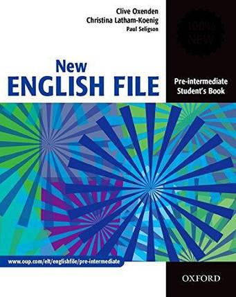 New English File Pre-Intermediate Student's Book (учебник), фото 2