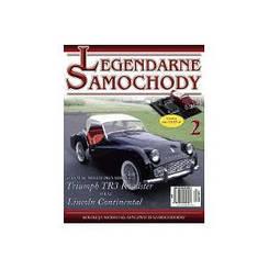 Модель Легендарные Автомобили (Amercom) №02 Triumph TR3 - 1955