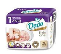 Подгузники Dada 1 Little One Newborn (2-5 кг)