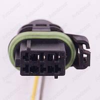 Разъем электрический 6-и контактный (21-12) б/у 297307
