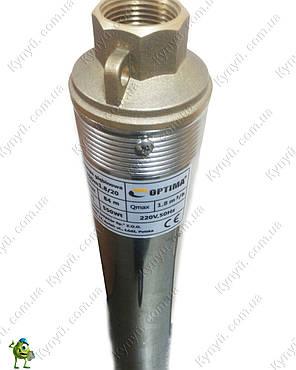 Насос скважинный Optima 3SDm1.8/20 кабель 60 м, фото 2