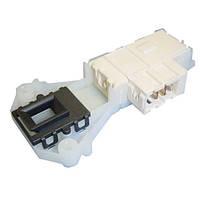Замок люка (двери) для стиральных машин Indesit/Ariston (C00085194) (Белый длинный с Т-блочком)