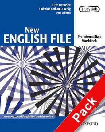 New English File Pre-Intermediate Workbook with key and MultiROM (Рабочая тетрадь) , фото 2