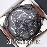 Мужские наручные часы Diesel DZ 7332 B120 на кожаном ремешке