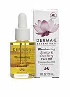 Средство для сияния кожи лица с маслами шиповника и клюквы * Derma E (США) *