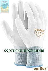 Перчатки рабочие Ogrifox покрытые полиуретаном OX-POLIUR WW