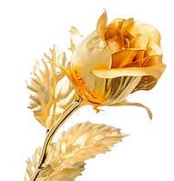 Позолоченная Роза сусальное золото GL-RC-001, фото 1